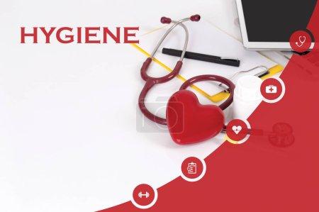 Photo pour Médecine, le Concept de santé: hygiène - image libre de droit