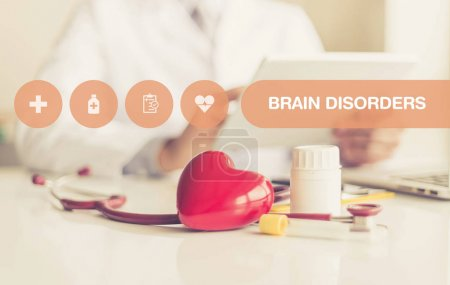 Photo for HEALTH CONCEPT: BRAIN DISORDERS - Royalty Free Image