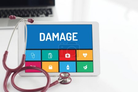Photo for MEDICINE,  HEALTH CONCEPT: DAMAGE - Royalty Free Image