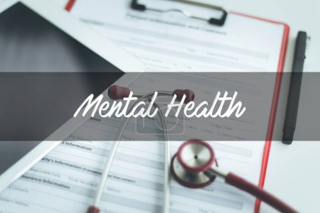 Photo for HEALTH CONCEPT: MENTAL HEALTH - Royalty Free Image