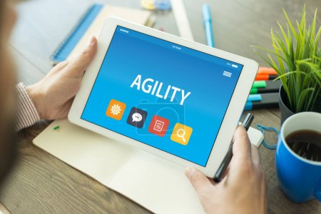 AGILITY CONCEPT ON TABLET