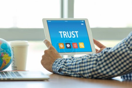 TRUST CONCEPT ON TABLET PC