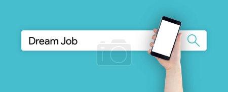 SEARCH: DREAM JOB CONCEPT