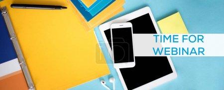TIME FOR WEBINAR CONCEPT
