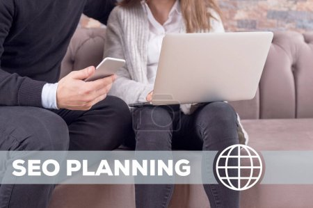 Seo Planning Technology Concept