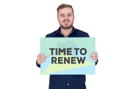 TIME TO RENEW CONCEPT