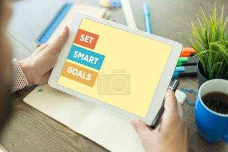 SET SMART GOALS CONCEPT