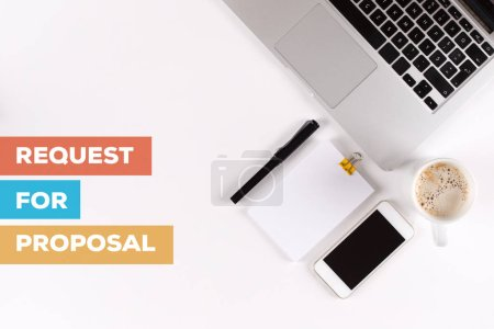 Photo for REQUEST FOR PROPOSAL CONCEPT TEXT - Royalty Free Image