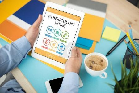 Curriculum Vitae Concept