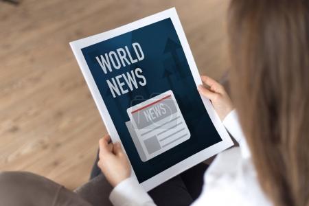 WORLD NEWS CONCEPT