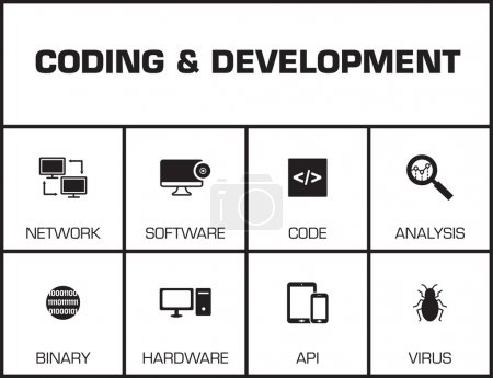 Coding and Development chart