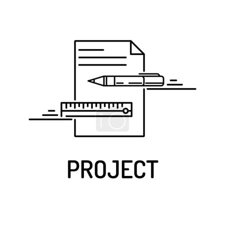 PROJECT Line Icon