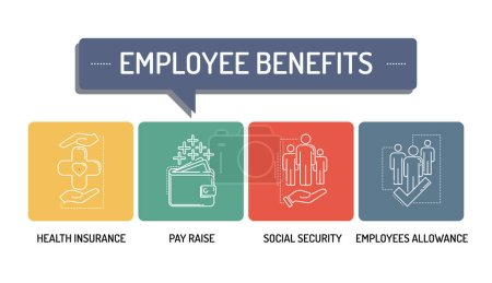 EMPLOYEE BENEFITS - LINE ICONS
