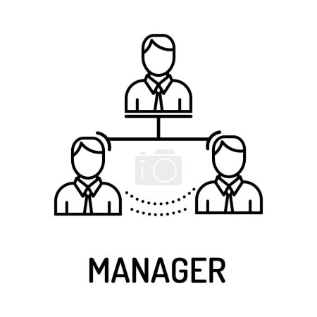 MANAGER Line Icon