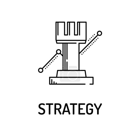 STRATEGY Line icon