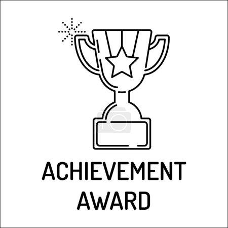 ACHIEVEMENT AWARD Line icon