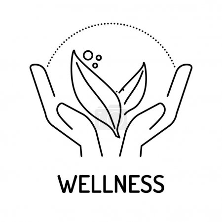 WELLNESS Line icon