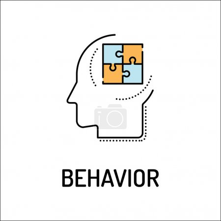 BEHAVIOR Line icon