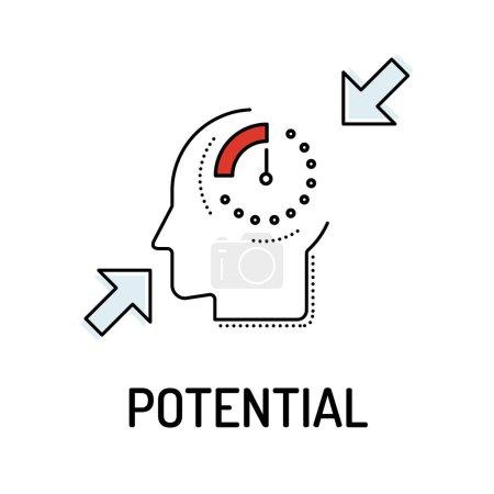 POTENTIAL Line icon