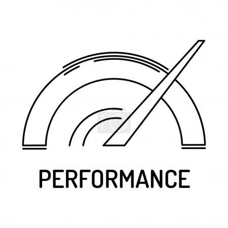 Performance Line Icon