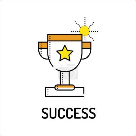 Success Line Icon