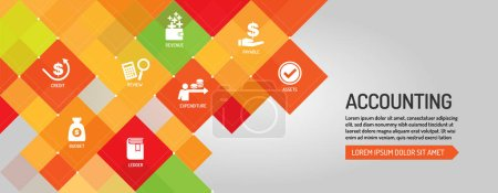 Accounting simple banner