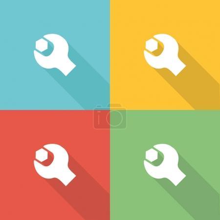 Pratice Flat Icon Concept