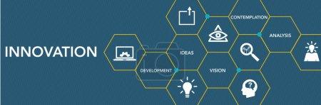 Illustration for Innovation Icon Concept. Vecor illustration - Royalty Free Image