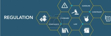 Regulation Icon Concept