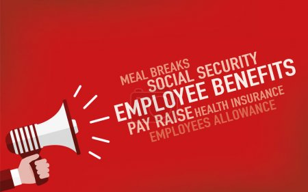 Employee Benefits Concept