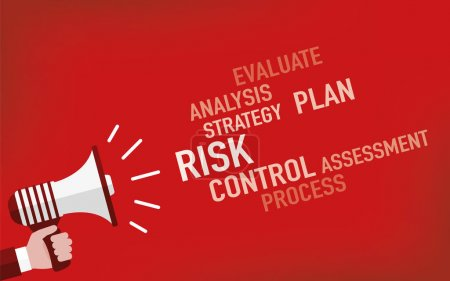 Risk Concept. Illustration