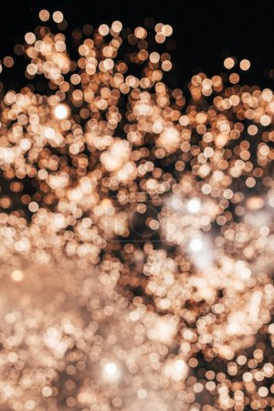 Abstract shiny background with lights bokeh