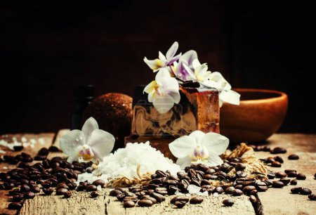 Organic coffee spa products