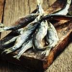 Постер, плакат: Beer snack dried fish roach