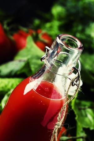 Freshly squeezed vegetable juice