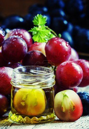 Essential oil of grape seed