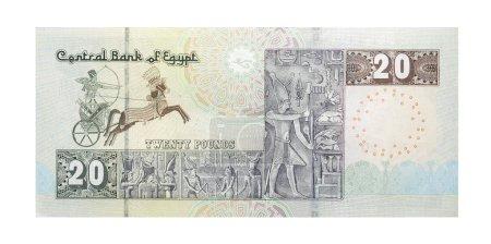 Photo pour 20 livres égyptiennes (recto) - image libre de droit