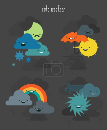 Cute weather collection