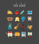 school characters for mobile apps
