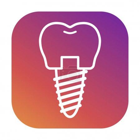 Vector icons for dental clinics
