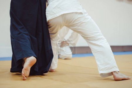 feet on the Mat in