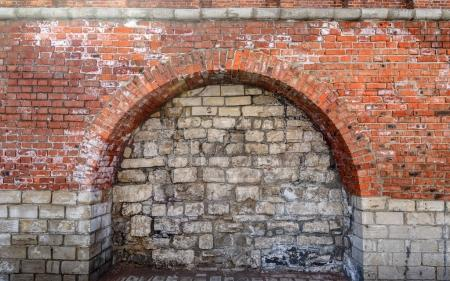 Bricked Up Doorway Arch.