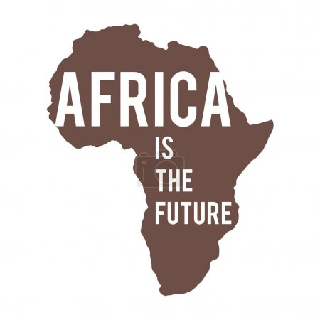 Inscription on map of Africa