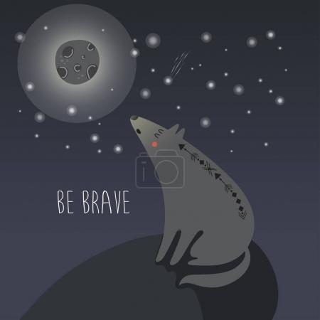 Be Brave poster for children
