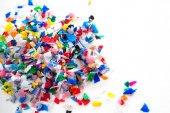 Různé regranulátu polymery