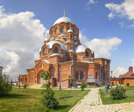 """Cathedral of Our Lady Mother """"All the Afflicted"""". Sviyazhsk, Kazan, Russia"""