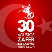 30 Agustos Zafer Bayrami Translation: August 30 celebration of victory and the National Day in Turkey