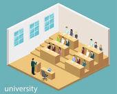 interior university auditorium