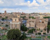 Roman Forum, Temple of Antoninus Pius and Faustina