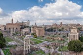 Architectural monuments of the Roman Forum